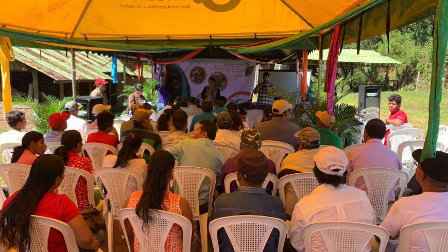 MARENA celebra en la Comunidad de Yucul