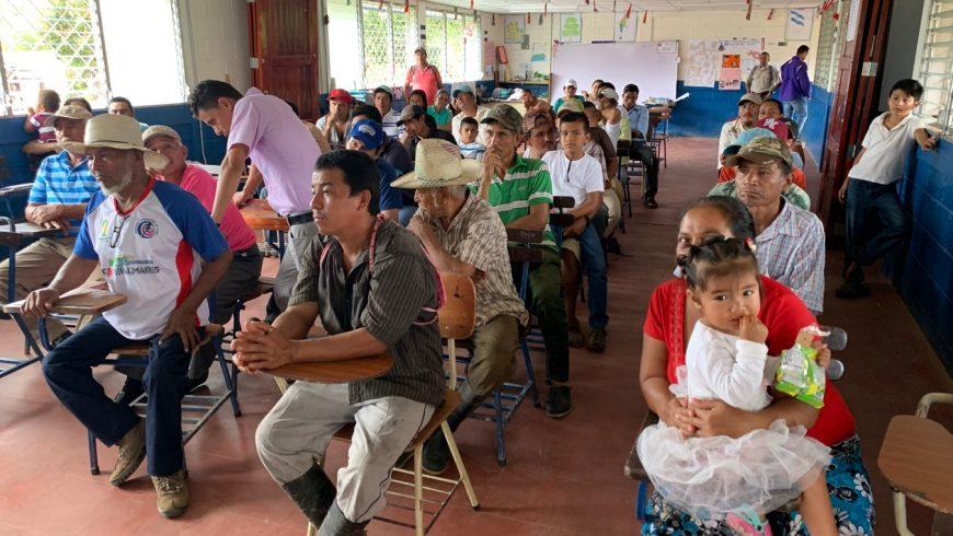 Foro comunitario de productores agroforestales de cacao