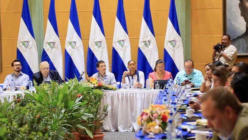 PRESENTAN A CUERPO DIPLOMÁTICO ESFUERZOS NACIONALES PARA LA CONSERVACIÓN DE LA MADRE TIERRA