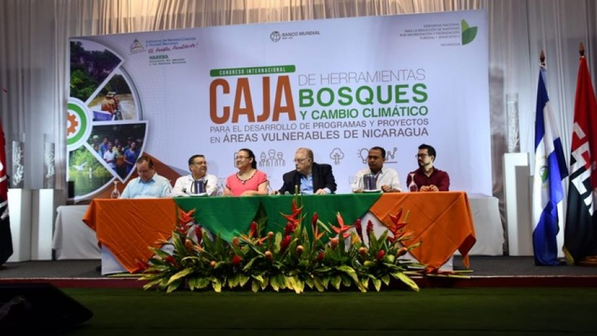 MARENA REALIZA CONGRESO INTERNACIONAL CAJA DE HERRAMIENTAS DE BOSQUE Y CAMBIO CLIMÁTICO PARA EL DESARROLLO DE PROGRAMAS Y PROYECTOS EN AREAS VULNERABLES DE NICARAGUA.