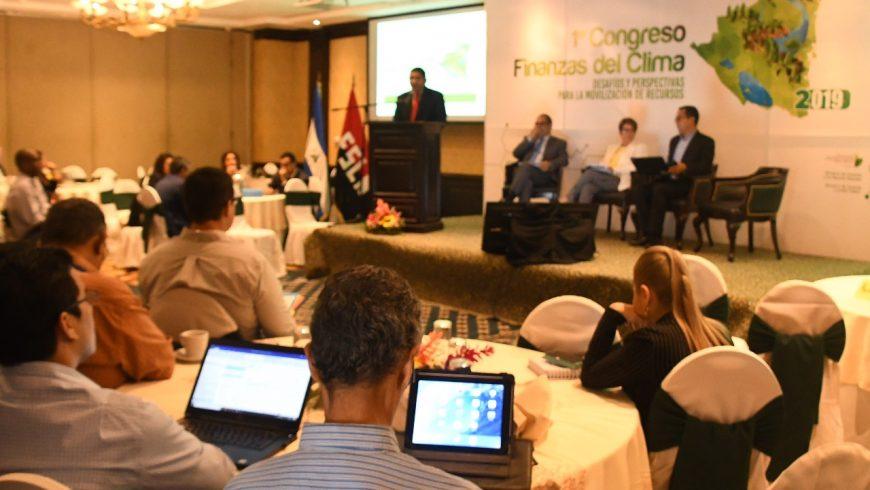 GOBIERNO DE NICARAGUA REALIZA PRIMER CONGRESO SOBRE MOVILIZACIÓN DE RECURSOS ECONÓMICOS PARA LAS FINANZAS DEL CLIMA