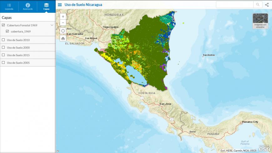 Visor de mapas y cobertura nacional