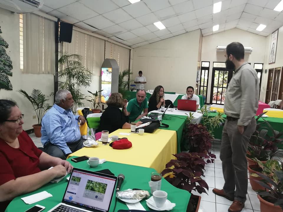 MARENA ENDE REDD+ desarrolla Taller Internacional sobre el Carbono de los Bosques